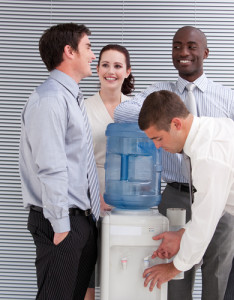 water cooler conversation