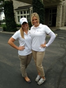 WorkSmart employees enjoying Indiana Youth Institute's Kids Count Golf Classic